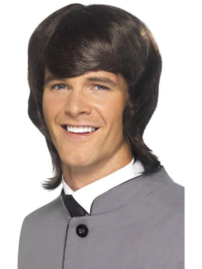 '60s Male Mod Wig-Wigs-Jokers Costume Hire and Sales Mega Store
