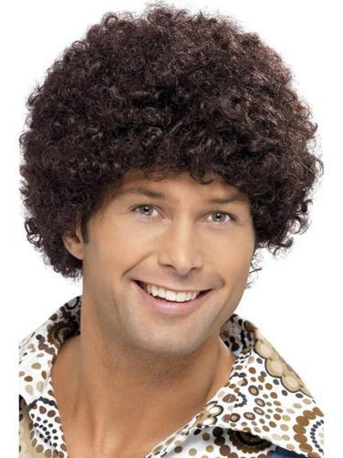 70s Disco Dude Wig-Wigs-Jokers Costume Hire and Sales Mega Store