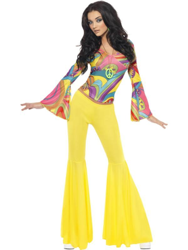 70s Groovy Babe Costume-Costumes - Women-Jokers Costume Hire and Sales Mega Store