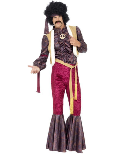 70s Psychedelic Rocker Costume-Costumes - Mens-Jokers Costume Hire and Sales Mega Store