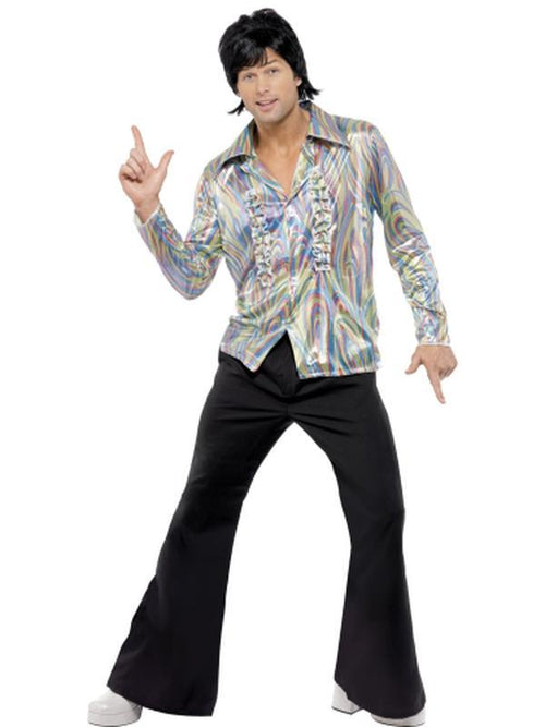 70s Retro Costume-Costumes - Mens-Jokers Costume Hire and Sales Mega Store