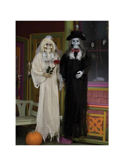 "72"" Hanging Bride and Groom Assortment-Halloween Props and Decorations-Jokers Costume Mega Store"