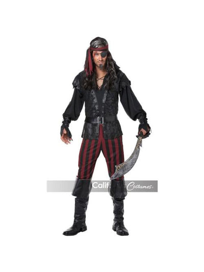 RUTHLESS ROGUE / ADULT-Costumes - Mens-Jokers Costume Mega Store