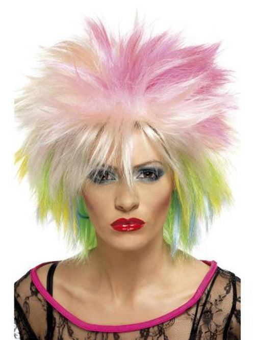 80s Attitude Wig-Wigs-Jokers Costume Hire and Sales Mega Store