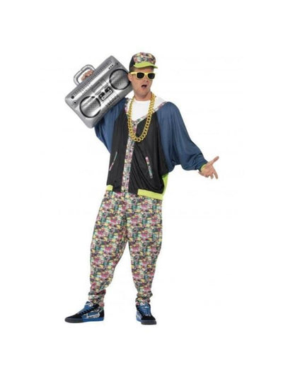 80's Hip Hop Costume-Costumes - Mens-Jokers Costume Hire and Sales Mega Store