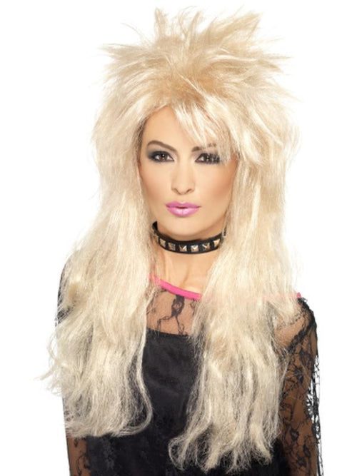 80s Long Mullet Wig-Wigs-Jokers Costume Hire and Sales Mega Store