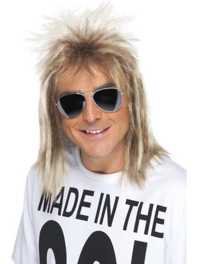 80s Mullet Wig, Blonde-Wigs-Jokers Costume Hire and Sales Mega Store