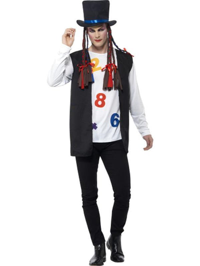 80s Pop Star Costume-Costumes - Mens-Jokers Costume Hire and Sales Mega Store