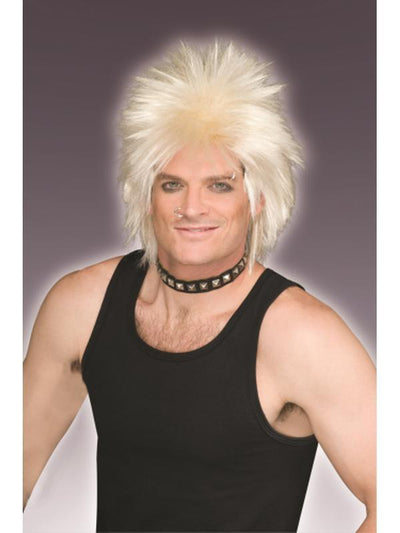 80'S Rock Idol-Blonde Wig-Wigs-Jokers Costume Hire and Sales Mega Store
