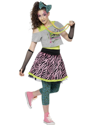 80s Wild Child Costume, Teen-Costumes - Girls-Jokers Costume Hire and Sales Mega Store