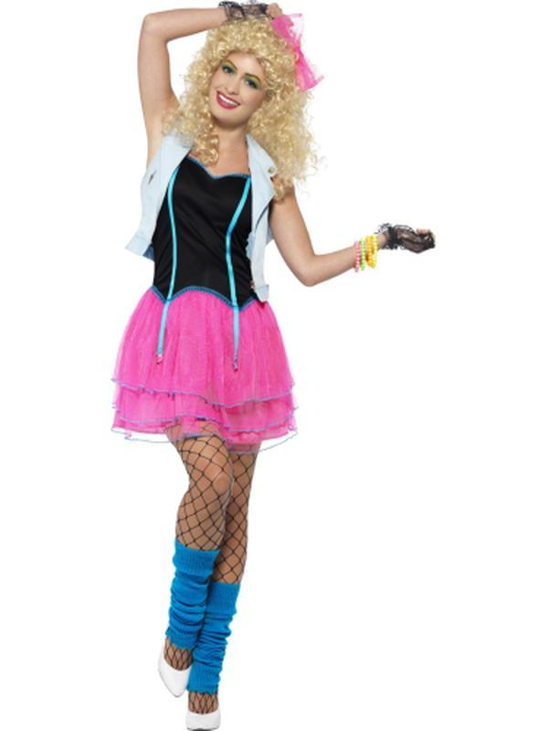 80s Wild Girl Costume-Costumes - Women-Jokers Costume Hire and Sales Mega Store