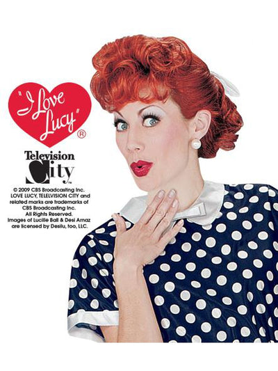 I Love Lucy Wig-Adult-Wigs-Jokers Costume Mega Store