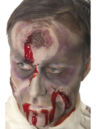 A Hole in the Head Scar, Bullet Wound-Make up and Special FX-Jokers Costume Hire and Sales Mega Store