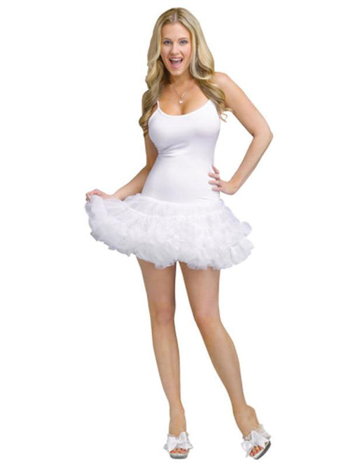 Adult Pettidress - White-Costumes - Women-Jokers Costume Hire and Sales Mega Store