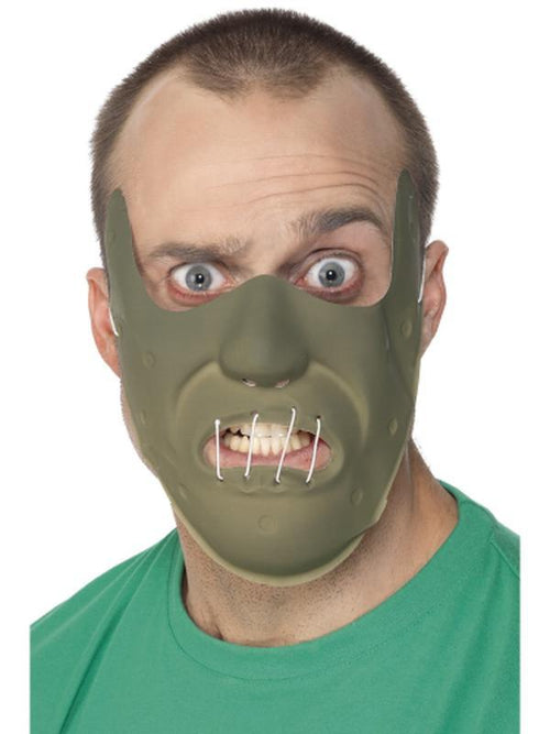 Adult PVC Restraint Horror Mask-Masks - Latex-Jokers Costume Hire and Sales Mega Store