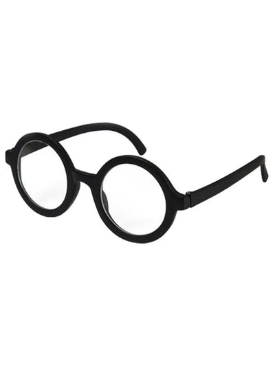 Adult Wallace Glasses w/Lens - Black-Eyewear-Jokers Costume Hire and Sales Mega Store