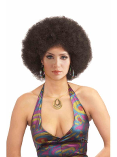 Afro Brown Wig Adult-Wigs-Jokers Costume Hire and Sales Mega Store