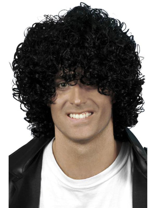 Afro Wet Look Wig-Wigs-Jokers Costume Hire and Sales Mega Store