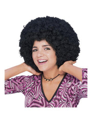 Afro Wig Adult-Wigs-Jokers Costume Hire and Sales Mega Store