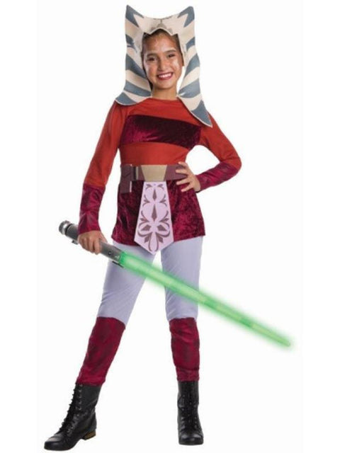 Ahsoka Child - Size M-Costumes - Girls-Jokers Costume Hire and Sales Mega Store