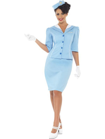 Air Hostess Costume-Costumes - Women-Jokers Costume Hire and Sales Mega Store