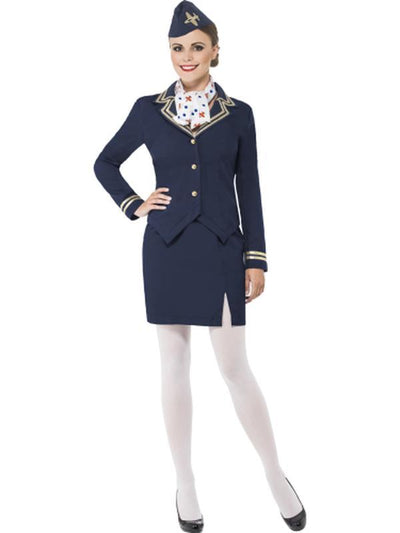 Airways Attendant Costume-Costumes - Women-Jokers Costume Hire and Sales Mega Store