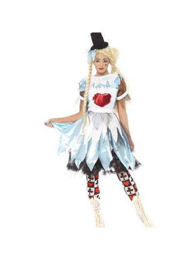 Alice in Blunderland Costume-Costumes - Women-Jokers Costume Mega Store