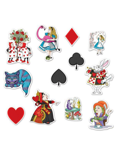 Alice In Wonderland Cutouts-Decorations - Themes-Jokers Costume Hire and Sales Mega Store
