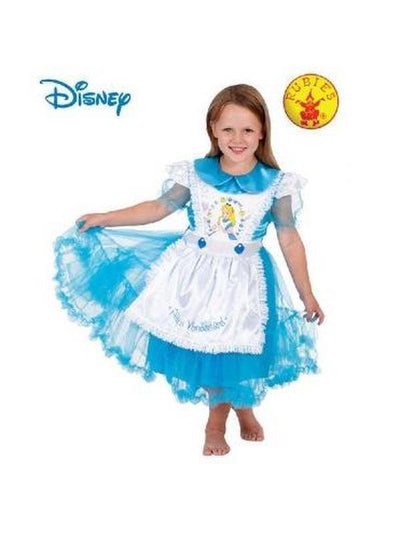 ALICE IN WONDERLAND DAISY CHAIN - SIZE 4-6-Costumes - Girls-Jokers Costume Hire and Sales Mega Store