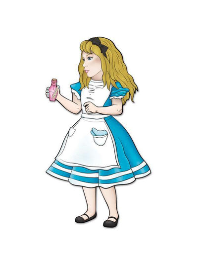 Alice In Wonderland Jointed Cutout Prop-Decorations - Themes-Jokers Costume Hire and Sales Mega Store