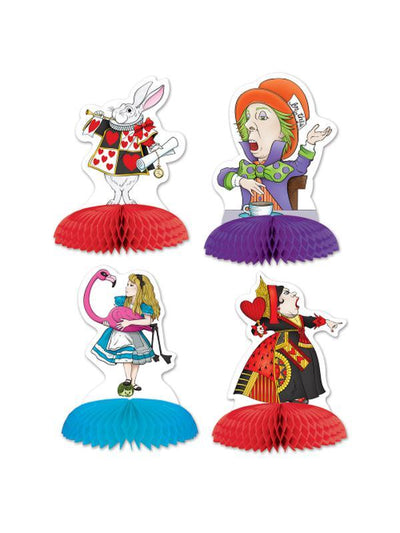Alice In Wonderland Mini Centerpieces-Decorations - Themes-Jokers Costume Hire and Sales Mega Store