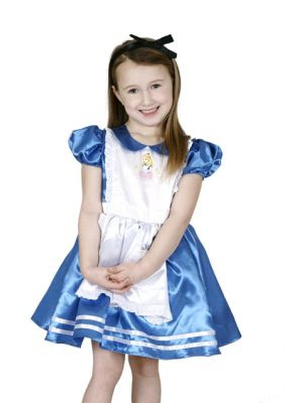 Alice In Wonderland - Size 3-5-Costumes - Girls-Jokers Costume Hire and Sales Mega Store