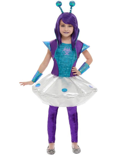 Alien Girl Costume-Costumes - Girls-Jokers Costume Hire and Sales Mega Store