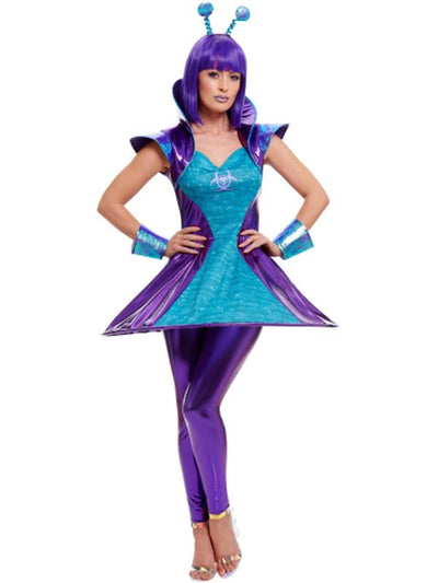 Alien Lady Costume-Costumes - Women-Jokers Costume Hire and Sales Mega Store