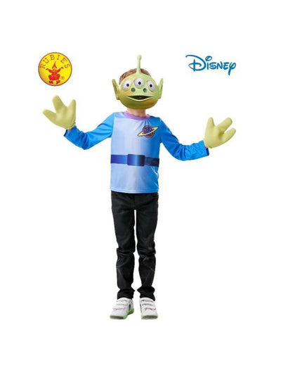 ALIEN TOY STORY 4 COSTUME, CHILD 3-6 Years-Costumes - Unisex-Jokers Costume Hire and Sales Mega Store