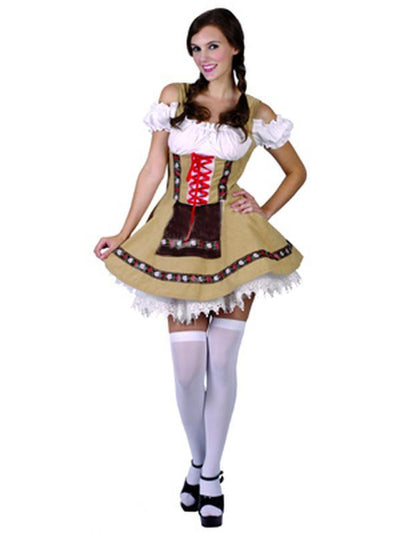 Alpine Beer Girl - Adult - Medium-Costumes - Women-Jokers Costume Hire and Sales Mega Store