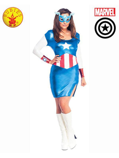 AMERICAN DREAM SEXY COSTUME - SIZE S-Costumes - Women-Jokers Costume Hire and Sales Mega Store