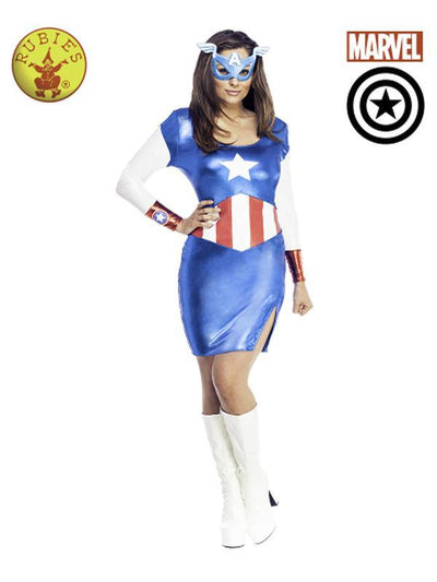 AMERICAN DREAM SEXY COSTUME - SIZE S.-Costumes - Women-Jokers Costume Hire and Sales Mega Store