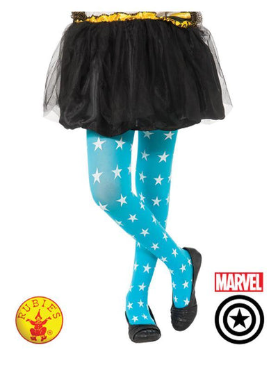 AMERICAN DREAM TIGHTS CHILD-Leg Wear-Jokers Costume Hire and Sales Mega Store