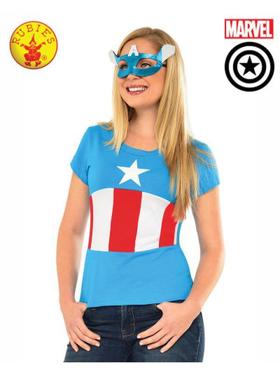 AMERICAN DREAM TSHIRT - SIZE S-Costumes - Women-Jokers Costume Hire and Sales Mega Store