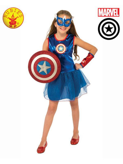 AMERICAN DREAM TUTU DRESS - SIZE L-Costumes - Girls-Jokers Costume Hire and Sales Mega Store