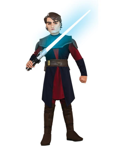 Anakin Skywalker Deluxe Child - Size M-Costumes - Boys-Jokers Costume Hire and Sales Mega Store