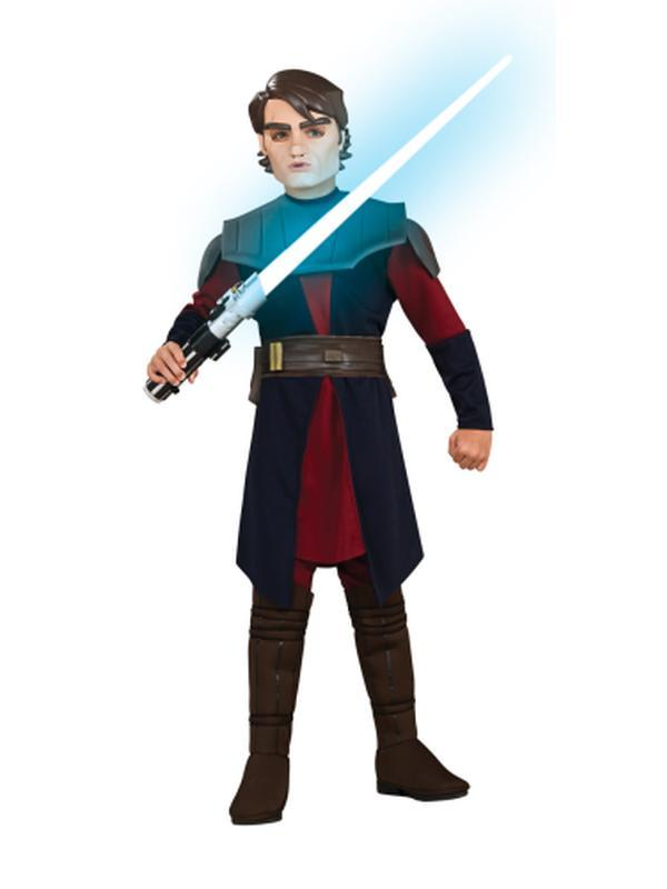 Anakin Skywalker Deluxe Child - Size S-Costumes - Boys-Jokers Costume Hire and Sales Mega Store