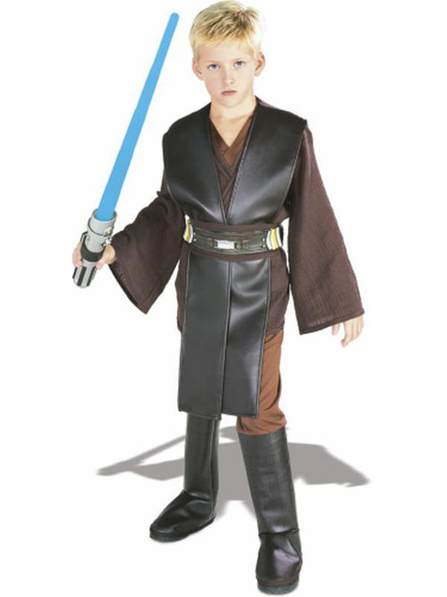 Anakin Skywalker Deluxe - Size S-Costumes - Boys-Jokers Costume Hire and Sales Mega Store