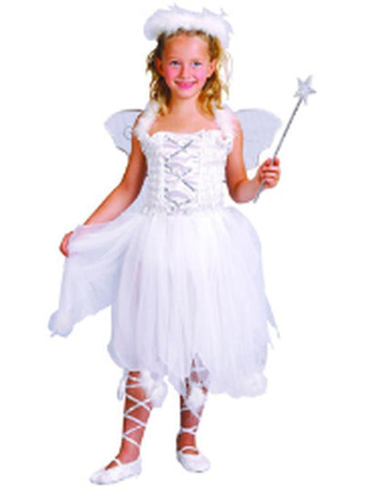 Angel - Child - Medium-Costumes - Girls-Jokers Costume Hire and Sales Mega Store
