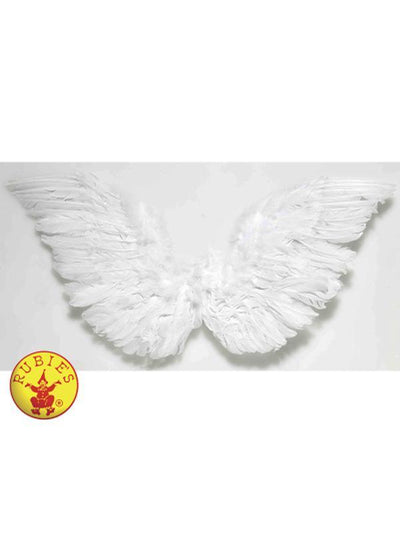 ANGEL WINGS - WHITE-Costumes - Women-Jokers Costume Hire and Sales Mega Store