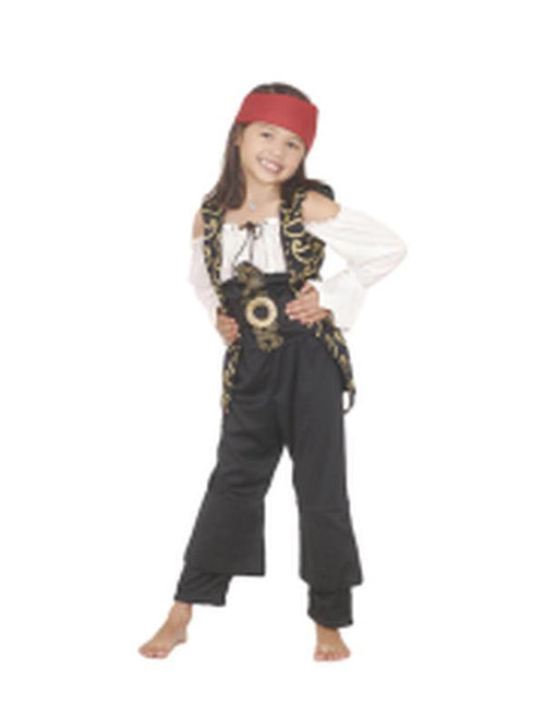 Angelica Potc Deluxe Costume - Size 4-6-Costumes - Girls-Jokers Costume Hire and Sales Mega Store