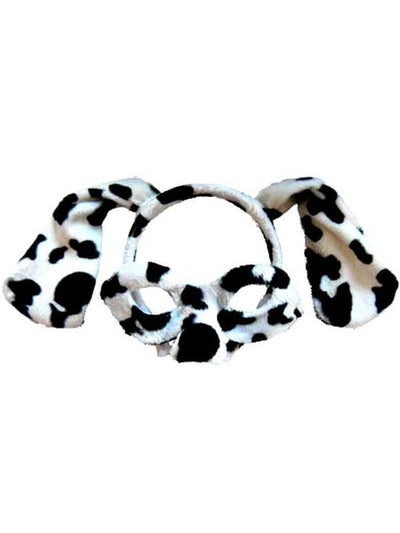 Animal Headband & Mask Set - Dalmatian-Masks - Animal-Jokers Costume Hire and Sales Mega Store