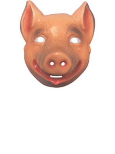 Animal Mask - Pig-Masks - Animal-Jokers Costume Hire and Sales Mega Store