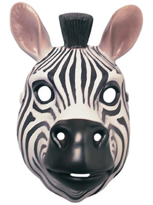Animal Mask - Zebra-Masks - Animal-Jokers Costume Hire and Sales Mega Store